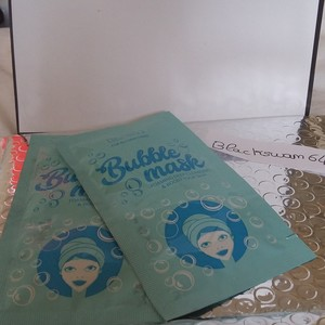 Lot de 2 bubble mask