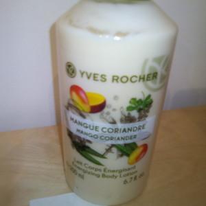 lait corps mangue coriandre