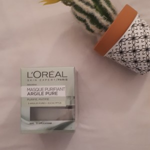 Masque argile purifiant