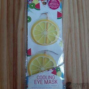 Masque rafraîchissant pour les yeux - Citron