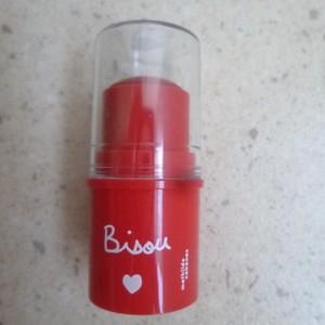 Beaume hydratant teinté  lèvres et joues - Bisou