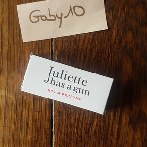 Juliette has a gun- not a perfume