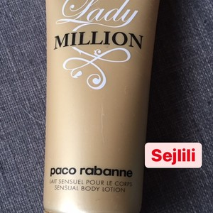 Crème corps lady million