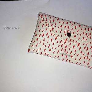 Pochette my little box rouge et blanche