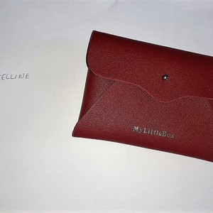 Pochette rouge my little box