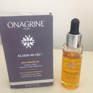 Elixir In Oil Serum Huile Anti-age Eclat 30ml Onagrine