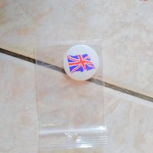 badge drapeau anglais