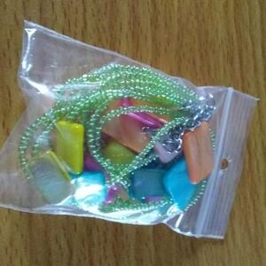 collier multi couleurs
