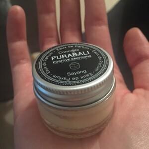Parfum crème bois de santal Purabali