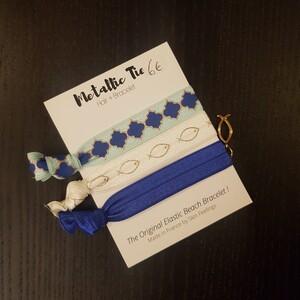 Bracelets/élastiques à cheveux Metallic Tie de Skin Feelings