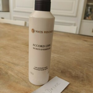 Lait parfumé Accord chic