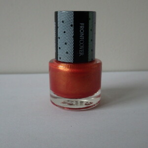 Vernis à ongles rouge nacré