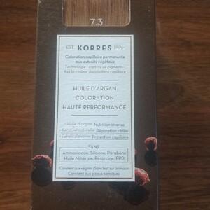 Korres 7.3 blond miel à l'huile d'argan 7.3