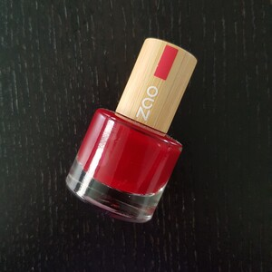 Vernis Zao 668 Rouge Passion