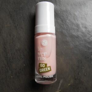 vernis rose perle