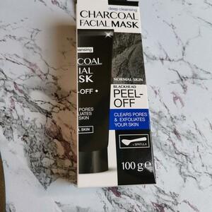 Charcoal Mask peel off