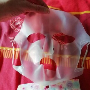 Masque en silicone visage pour masque
