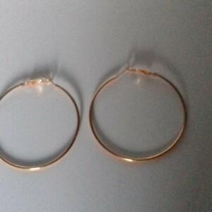 Boucles d'oreilles créoles