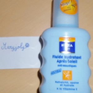 Fluide hydratant apres soleil