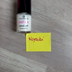 Vernis nail art peel off