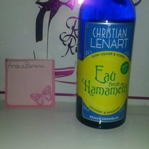 Eau florale Hamammélis  Christian Lénart   NEUF