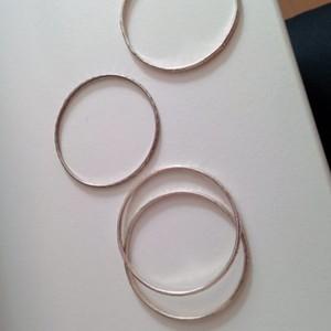 bracelets argentes