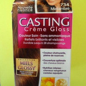 Casting crème gloss miel ambré 734