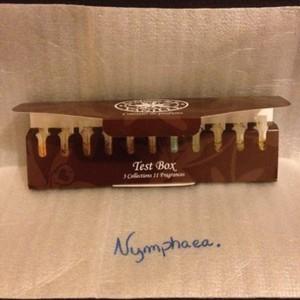 Test box parfum La maison de la vanille