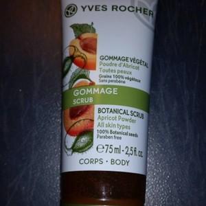 Gommage végétal   poudre d'abricot