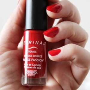 Vernis Soin Rouge passion