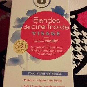 Bandes cire froide