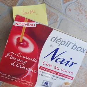 Dépil'box cire au sucre
