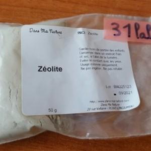 Zeolite en poudre