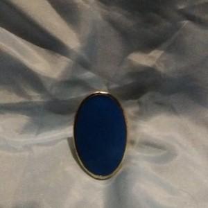 Bague bleu