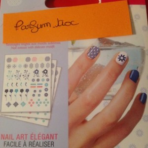 Tatouage pour ongles pour nail art