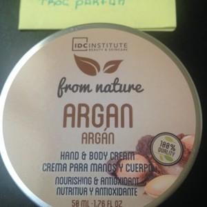 Body Cream a l argan