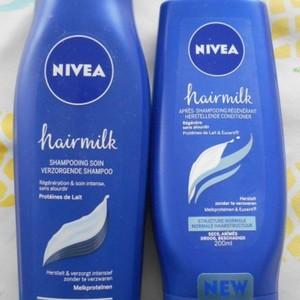 Hairmilk shampoing et après shampoing