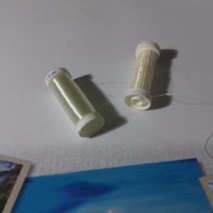 "1 bobine pour fabrication ""bijoux"""