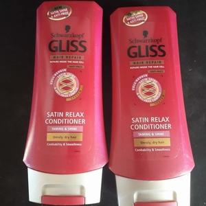 gliss hair repair satin relax conditioner