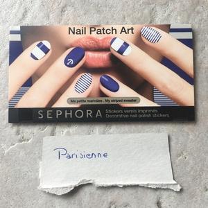 Nail patch art stickers vernis ongles imprimés