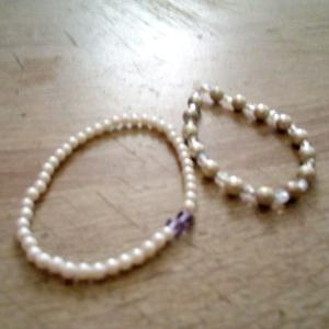 2 bracelets élastique