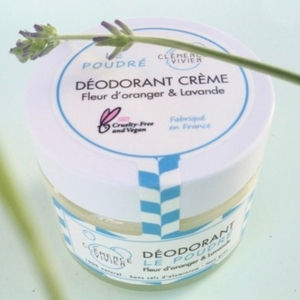 déodorant crème le poudré Clemence &Vivien
