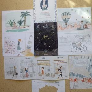 Lot de 12 cartes - Kanako