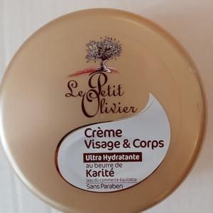 Crème visage et corps au beurre de karité