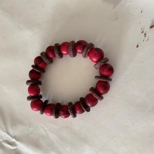 bracelet en bois de cerisier biologique
