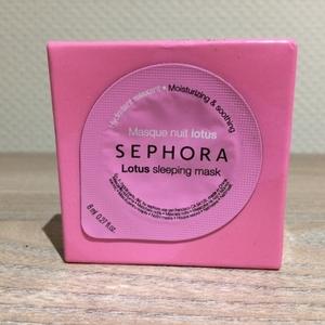 Masque nuit lotus Sephora