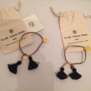 2 bracelets Elise Tsikis