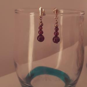 Boucles d'oreilles prunes