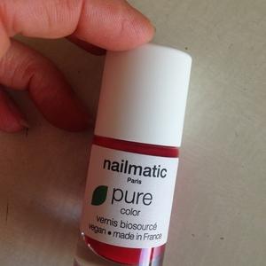 Vernis à ongles biosourcé - rouge pur – Dita
