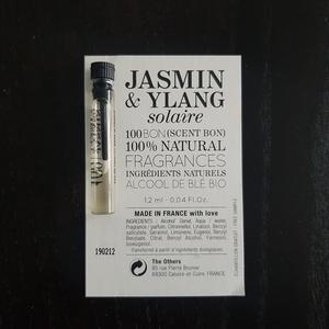 Échantillon 100BON Jasmin & Ylang solaire